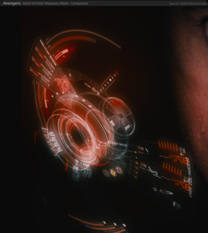 Jayse Hansen Portfolio | | Iron Man's Mark VII HUD