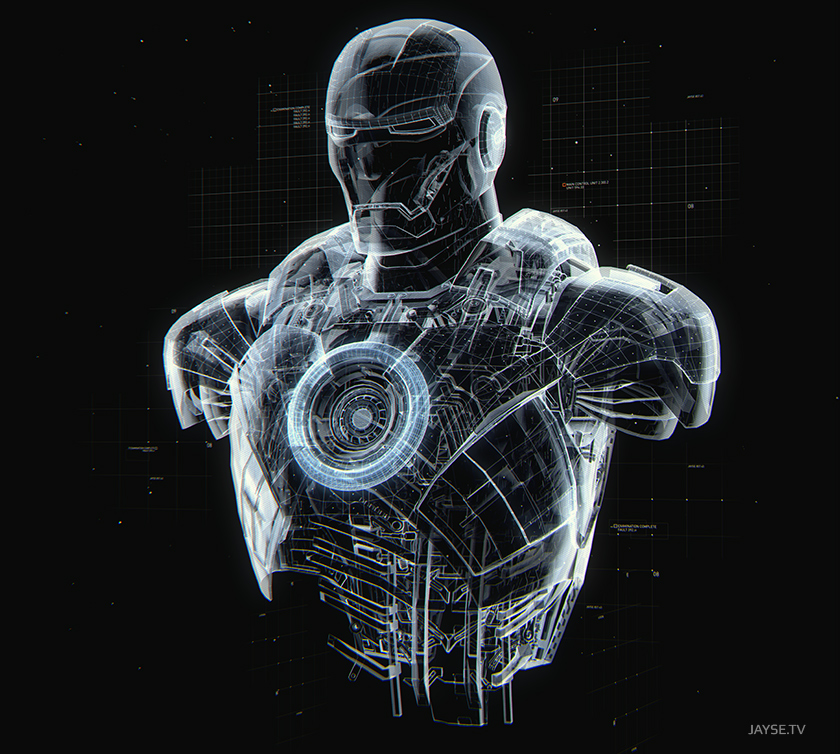 iron man 3 suit design
